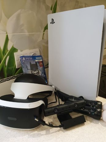 PS VR,move, camera,PS5 adaptor,Batman™: Arkham V