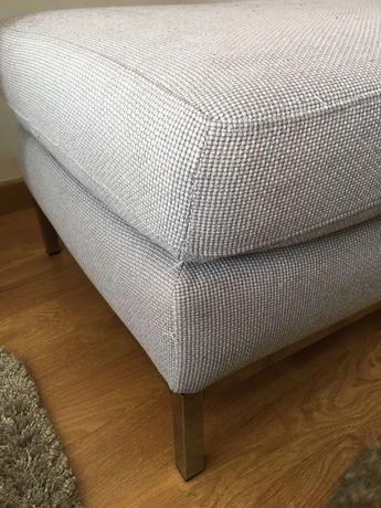 Puf sofá cinzento