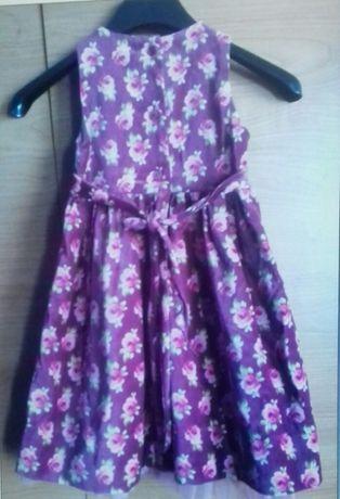 Продаю платье детское ( бархат х/б)