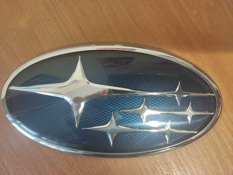 Эмблема решетки радиатора Subaru 93013AJ050