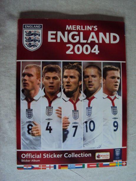 Caderneta EURO 2004 - Merlin