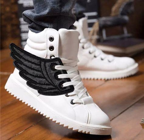 Skrzydełka do butów, oryginalne, ozdoba