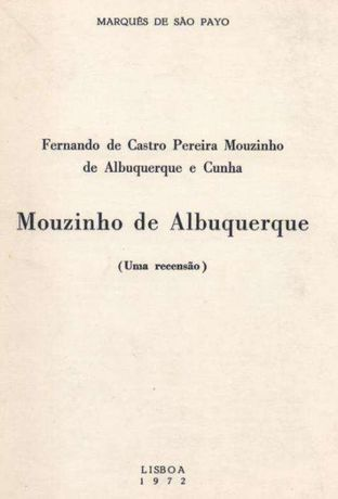 Fernando de Castro Pereira Mouzinho de Albuquerque e Cunha Mouzinho de