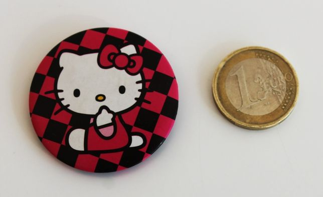 Pin de metal para lapela ou colete da Kitty Cat