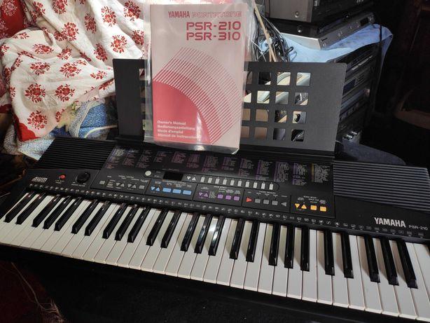 Keyboard Yamaha PSR-210 jak nowy