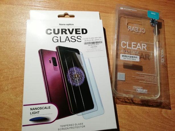 Etui + szkło ochronne na Samsung Galaxy S8+ (Plus)