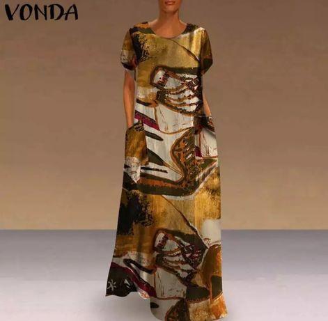 Продам платье туника лен