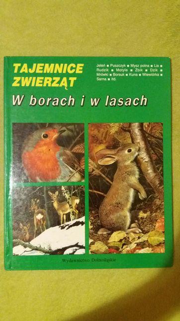 Sprzedam TANIO książkę Tajemnice Zwierząt. W borach i w lasach