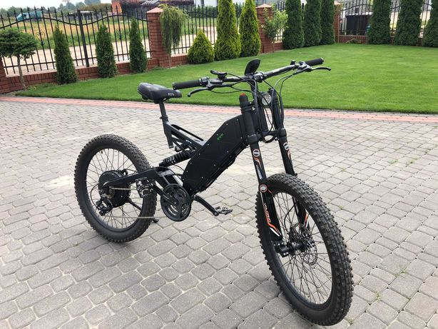 Rower elektryczny EVSpark Light Mocny rower elektryczny.