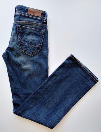 Tommy Hilfiger denim damskie spodnie jeansowe rozmiar W24 L32