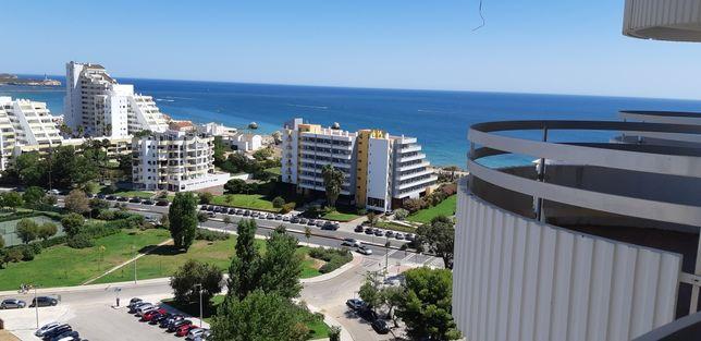 Praia da Rocha-T1 Vista Mar, piscina, garagem, junto à praia
