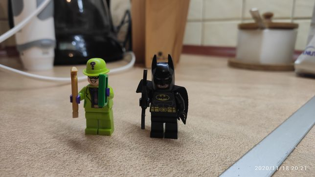 Figurka Lego Batman i The Riddler