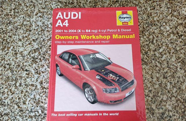 Audi A4 B6 / 8E Manual de manutenção e Reparação