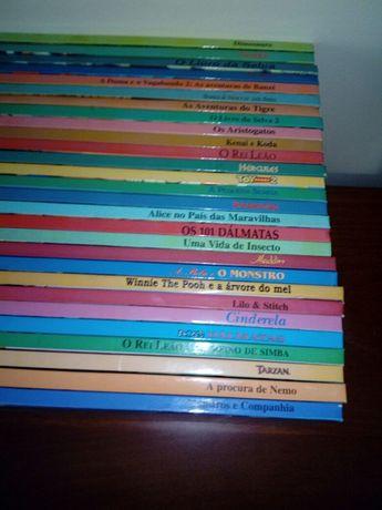 Coleção de 27 Livros clássicos  Disney