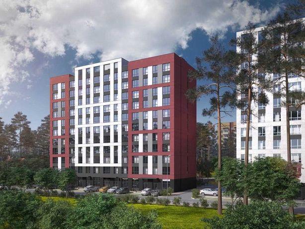 2 кімн. квартира-Ірпінь-Центральний Парк 63 м.2-Євро-планування!