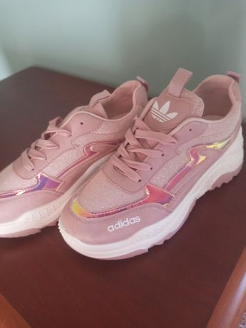 Nowe  różowe buty 39