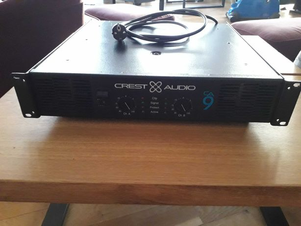 Crest  Audio CA9 , końcówka mocy