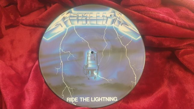 Vinil metalica ride the lightning