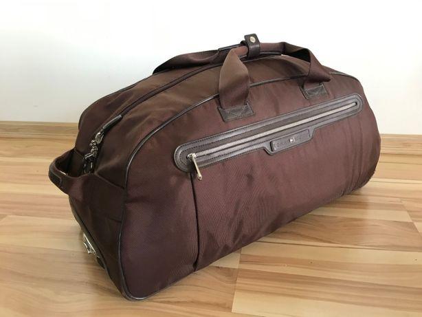 walizka torba materiałowa na kółkach Tommy Hilfiger