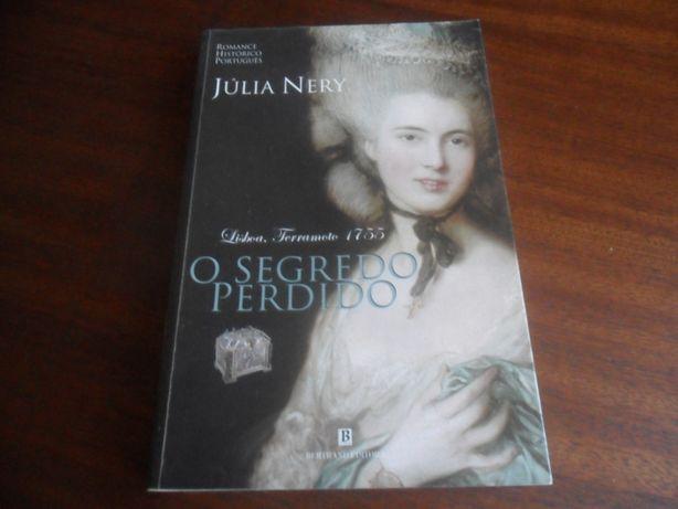 """""""O Segredo Perdido"""" de Júlia Nery - 1ª Edição de 2005"""