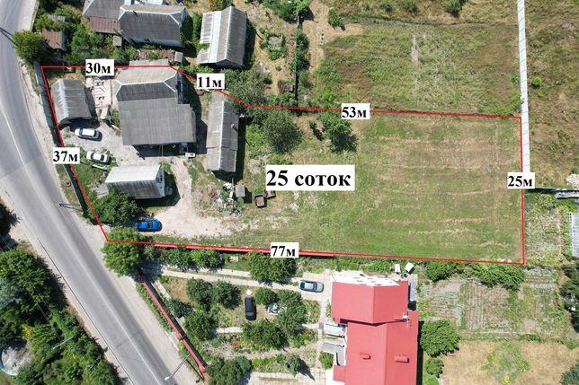 Білогородка-Боярка продам ділянку 25 соток біля Анжіо