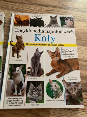 Książki - Encyklopedie najmłodszych psy, koty