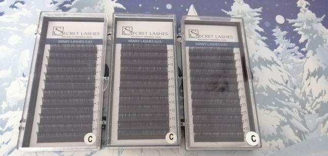 Rzęsy Secret Lashes 0.03 C 11mm