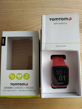 Спортивний годинник Tomtom Spark Cardio + Music