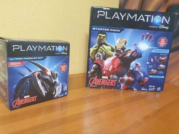 Playmation Marvel The Avengers Starter Pack + Ultron Prowler Bot