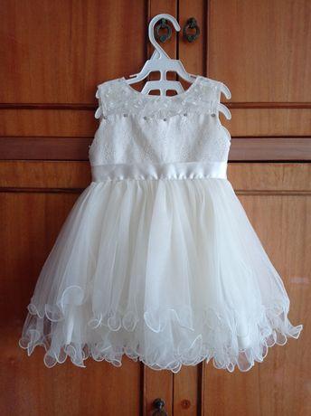 Нарядное платье для девочки, р.92