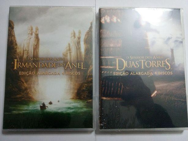 """DVD """"O senhor dos anéis"""", NOVO"""