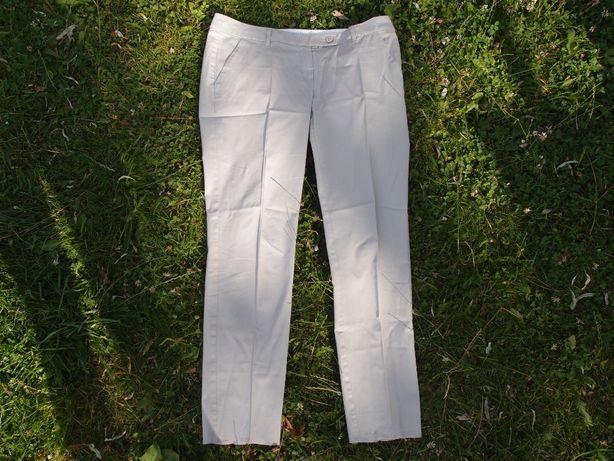 Marella beżowe spodnie 42