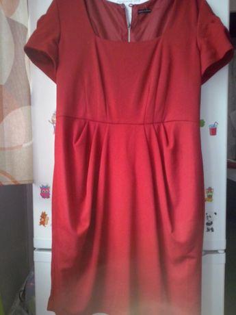 Sukienka czerwona r.L