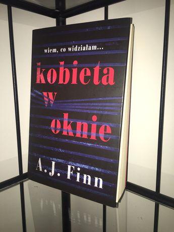 """Książka ,,Kobieta w oknie"""" A.J. Finn [THRILLER]"""