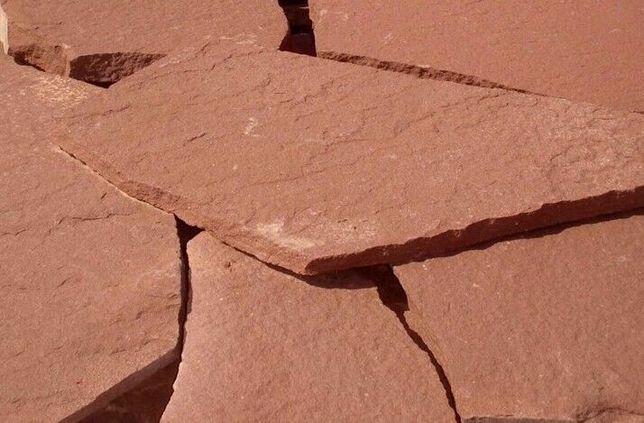 CZERWONY PIASKOWIEC Elewacyjny Kamień na Elewację Dzikówka WARSZAWA
