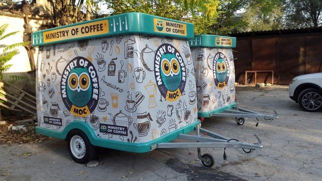 Продам кофе прицеп, кофейня
