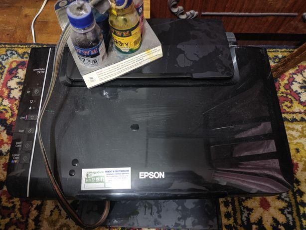 Продам принтер epson tx117 самовывоз