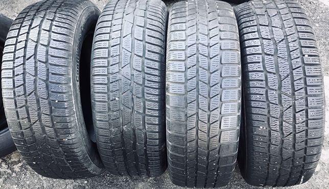 Continental 215/60r16  4 шт зима резина шины б/у склад
