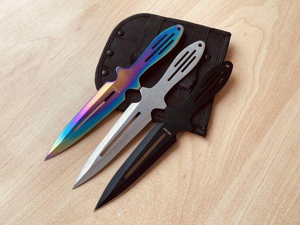 Набор метательных ножей Grand Way 3 в 1 / ножи для метания/метательные