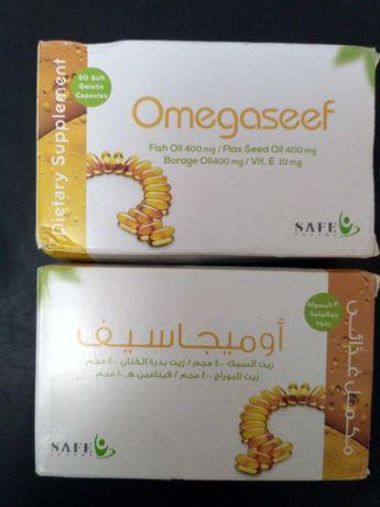 Омега Сиф 30 капсул производство Египет