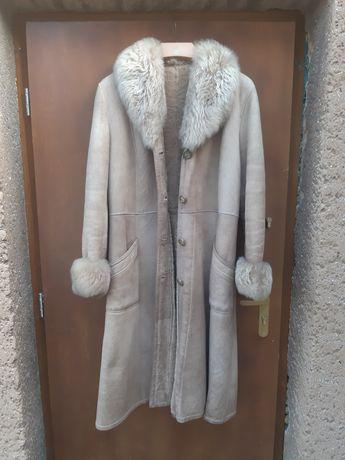 """Płaszcz naturalne futro marki """"Orzeł Biały"""""""