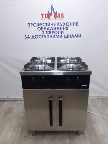 Професійна газова плита ATAG на 4 канфорки