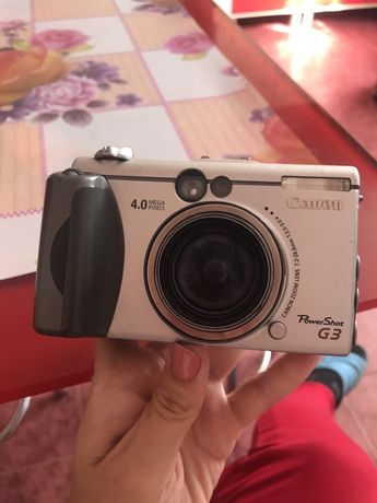 Фотоапарат Canon pc1032 powerShot g3