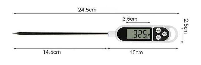 Termómetro digital de vareta para alimentos, papa de animais (NOVOS)