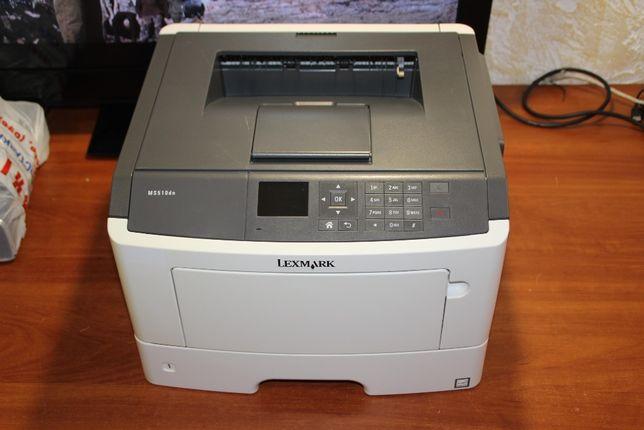 Lexmark MS510dn A4, 1200x1200dpi, USB/Ethernet, пробег 50000