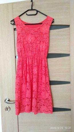 Sukienka koronkowa M