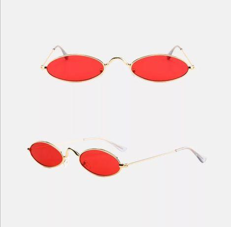 Узкие очки, очки плоские, ретро очки, плоские очки, очки