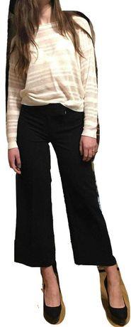 Широкі штани брюки кюлоти чорні / штаны брюки кюлоты marks and spencer