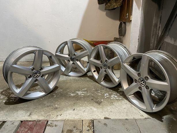 Титановые диски Volkswagen VW R16 оригинал