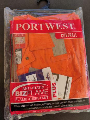 Fato Portwest novo